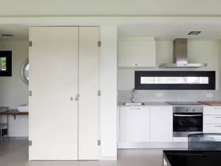 Vivienda en Villagarcía Cocinas de estilo minimalista de Nan Arquitectos Minimalista