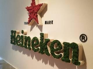 Kurumsal Markanın Yeşil İle Buluşması ..! Modern Klinikler Butik Bahçe Dikey Bahçe ve Peyzaj Tasarımları Modern