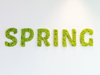 Kurumsal Markanın Yeşil İle Buluşması ..! Butik Bahçe Dikey Bahçe ve Peyzaj Tasarımları Modern