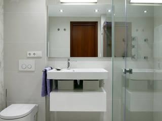 Baño contemporaneo diseño L'AGABE Interiorismo. Baños de estilo mediterráneo de L'AGABE Mediterráneo