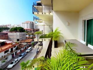 Балкон и терраса в стиле модерн от DECO Designers Модерн