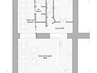 Projekty,   zaprojektowane przez EMC2Architetti, Nowoczesny