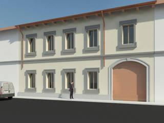 Recupero Cortile Case classiche di macioce -tamborini Architetti Associati Classico