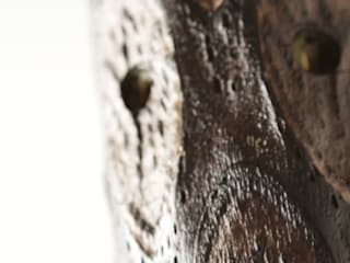 LAMPADAIRE TOTEM : UNE LUMIÈRE D'AMBIANCE AVEC ÉCLAIRAGE INTENSE par MS Ebénisterie Éclectique