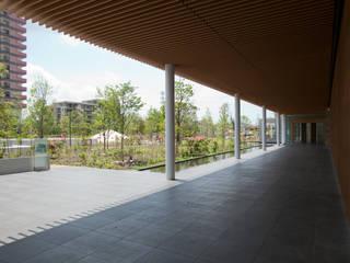 Giardino moderno di 株式会社 スタジオ ゲンクマガイ Moderno