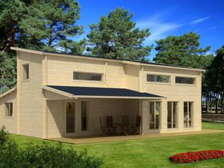 Casas modernas por Gartenhaus2000 GmbH Moderno