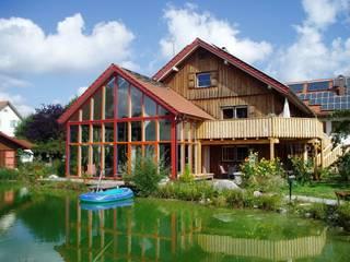 Altbausanierung eines ehemaligen Bauernhofes Zimmerei & Holzbau Wolfgang KIechle Landhäuser