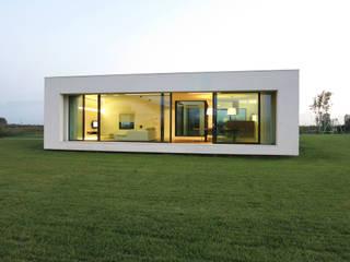 Villa Passiva CD: Case in stile in stile Moderno di Federico  Cappellina Architetto
