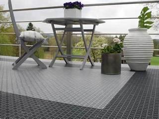 Outdoor Flooring by Ecotile Flooring Scandinavian