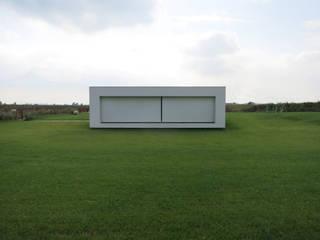 Villa Passiva CD: Spa in stile in stile Minimalista di Federico  Cappellina Architetto