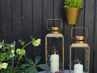 Brass Lanterns:  Garden  by MiaFleur