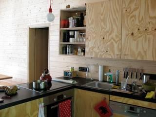 Wochenendhaus in Brandenburg Minimalistische Küchen von Katja Söchting interior design studio Minimalistisch