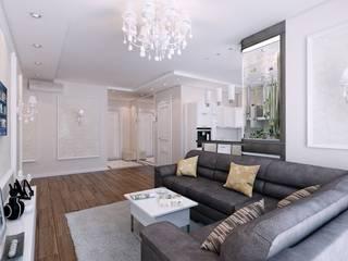 Salas de estar  por Студия дизайна Elena-art