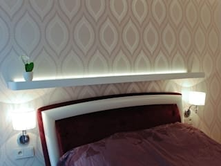 Modern style bedroom by YNOX Architektura Wnętrz Modern