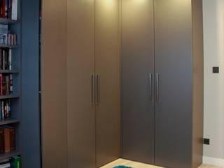 Oficinas y bibliotecas de estilo moderno de YNOX Architektura Wnętrz Moderno
