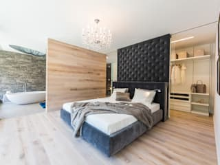 غرفة نوم تنفيذ ARKITURA GmbH