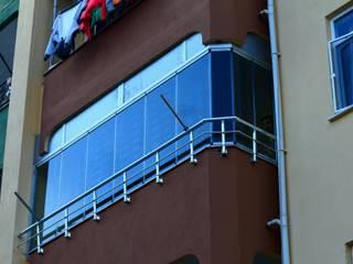 Akdeniz Dekorasyon Casas de estilo moderno