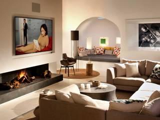 Living Room : mediterranean Living room by TG Studio