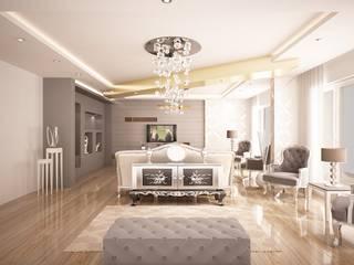 Sinar İç mimarlık Ruang Keluarga Klasik