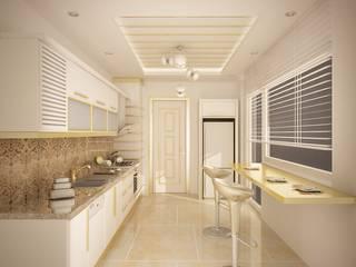 Sinar İç mimarlık – Sinem ARISOY KEÇECİ: klasik tarz tarz Mutfak