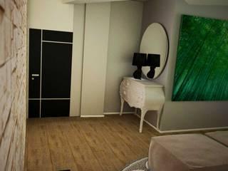 3D Interior Design: Soggiorno in stile in stile Moderno di Walls 3D Vizualization
