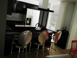 Interior Design: Cucina in stile in stile Moderno di Walls 3D Vizualization