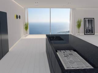 Cucina Minimal Cucina minimalista di Walls 3D Vizualization Minimalista