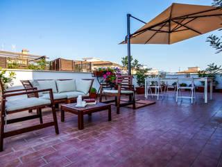 AI2 Home Balcone, Veranda & Terrazza in stile mediterraneo di Luca Bucciantini Architettura d' interni Mediterraneo