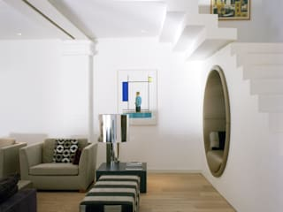 Gartenloft, Berlin MItte Moderne Wohnzimmer von STUDIO HANSEN Modern