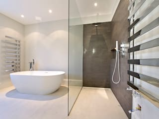 Parsons Green Basement Dig out and Extension Modern bathroom by Balance Property Ltd Modern