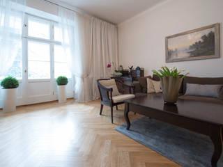 Salas de estar clássicas por dziurdziaprojekt Clássico