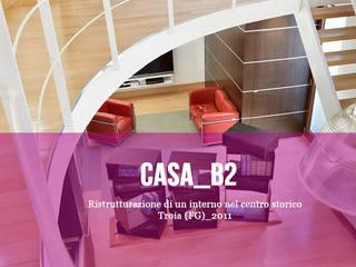 Casa_B2 - Ristrutturazione di un interno in centro storico di Cibelli+Guadagno architetti associati Minimalista