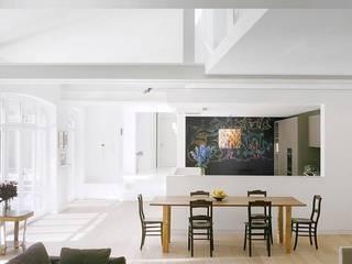 Gartenloft, Berlin MItte:  Wohnzimmer von HANSENWINKLER