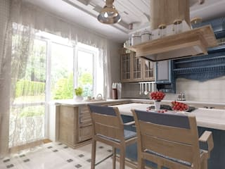 Студия дизайна Натали Хованской Country style kitchen