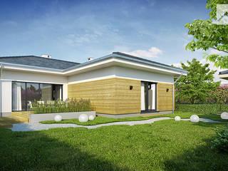 IGNOTUS Nowoczesne domy od Oryginalneprojekty s.c. Nowoczesny