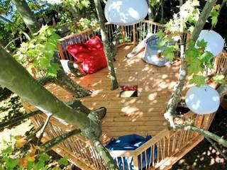 Aziatische balkons, veranda's en terrassen van Cabaneo Aziatisch