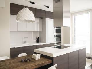 Modern Kitchen by I Home Studio Barbara Godawska Modern