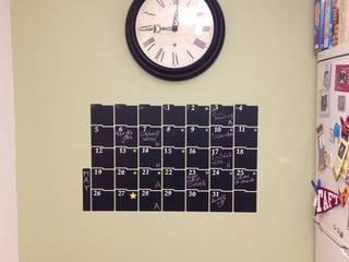 Chalkboard Calendar Wall Sticker:  Kitchen by The Binary Box