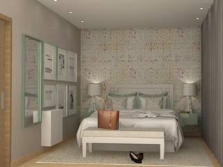 ห้องนอน โดย Santiago   Interior Design Studio , ผสมผสาน