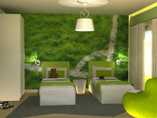 ห้องนอนเด็ก โดย Santiago   Interior Design Studio , โมเดิร์น