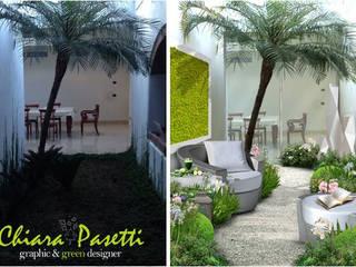 I miei Render: Giardino d'inverno in stile  di Chiara Pasetti Graphic&Green Designer