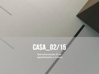 Casa_02/15 - ristrutturazione di un appartamento di Cibelli+Guadagno architetti associati Minimalista