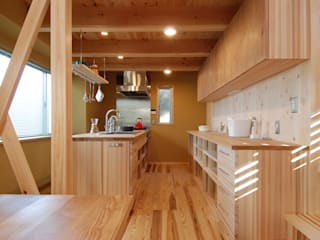 Eclectic style kitchen by 豊田空間デザイン室 一級建築士事務所 Eclectic