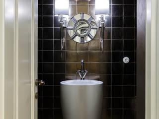 Квартира на Можайском шоссе: Ванные комнаты в . Автор – Irina Tatarnikova