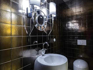 Irina Tatarnikova Casas de banho ecléticas