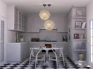 ห้องครัว โดย Santiago   Interior Design Studio , เมดิเตอร์เรเนียน