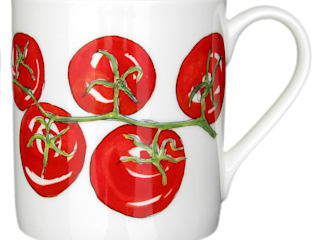 Ingredient & Tropical Mugs:   by Richard Bramble Collection