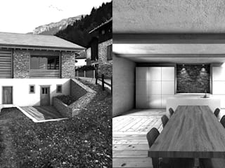 Haus Marzolt:  Häuser von Studio Gabor Gyenese
