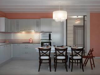 Cocinas de estilo rural de Center of interior design Rural