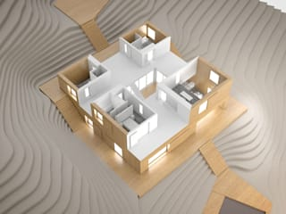 JLC House : Casas mediterrânicas por ADAPT Arquitectos